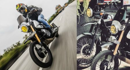 Honda Navi To Royal Enfield Himalayan Customisation - Feature Image