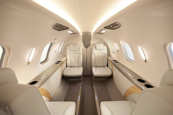 HondaJet airplane interior (3)