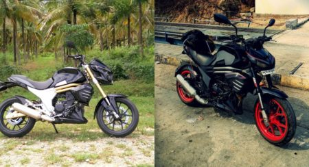 Kawasaki Z1000 Inspired Modified Mahindra Mojo - Feature Image (1)