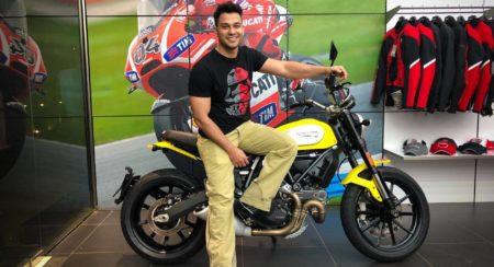 Kunal Kemmu buys a Ducati Scrambler Icon