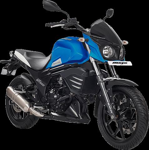 Mahindra Mojo UT300 – Blue (1)