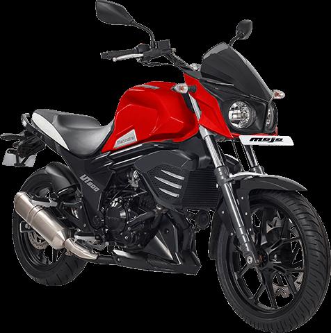 Mahindra Mojo UT300 – Red (4)