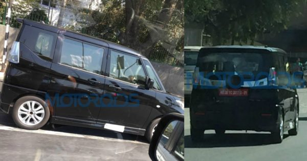 Maruti Suzuki Solio Spotted In India – Exclusive Images (1)