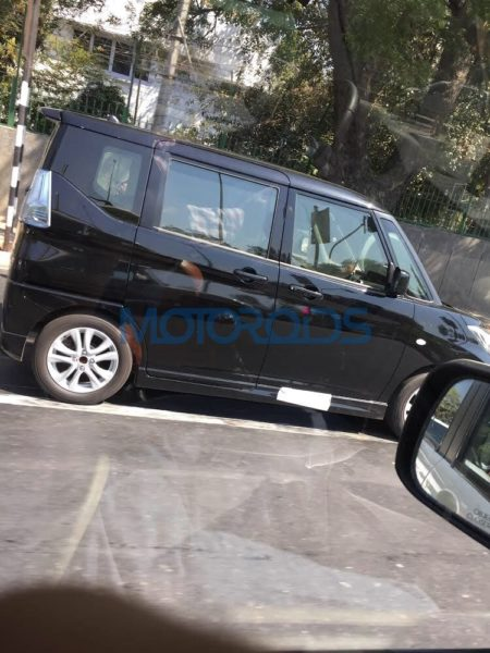 Maruti Suzuki Solio Spotted In India – Exclusive Images (2)