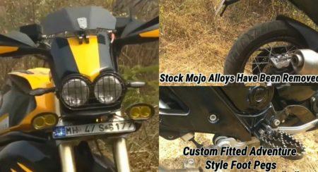 Modified Mahindra Mojo - Feature Image