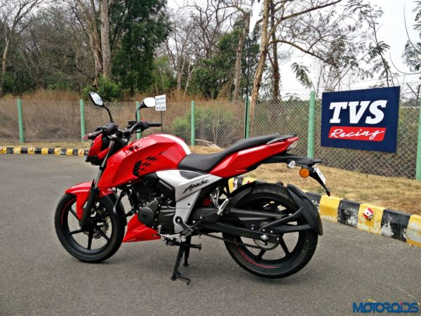 New 2018 TVS Apache RTR160 4V Review (26)