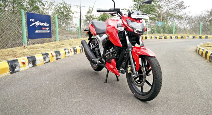 New 2018 Tvs Apache Rtr160 4v First Ride Review