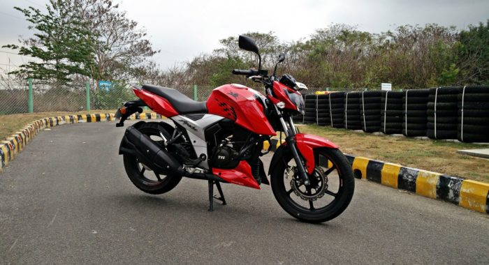 The Tvs Apache Rtr 160 4v Family Now Has Over A Lakh
