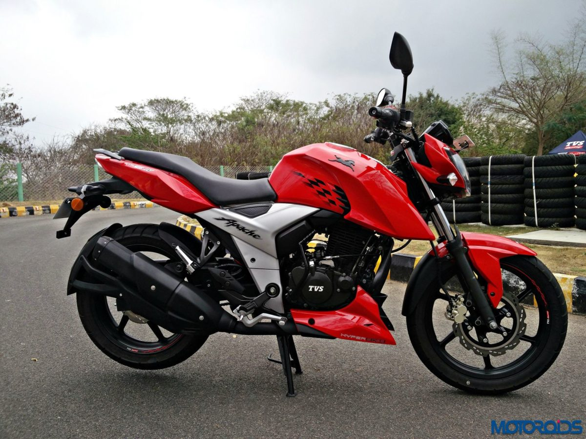 New 2018 TVS Apache RTR160 4V Review (8)