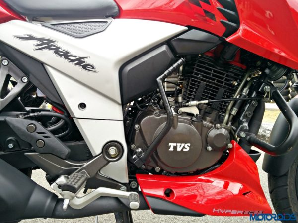 New 2018 TVS Apache RTR160 4V Review (9)