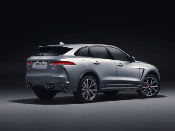 New Jaguar F PACE SVR – Official Images (2)