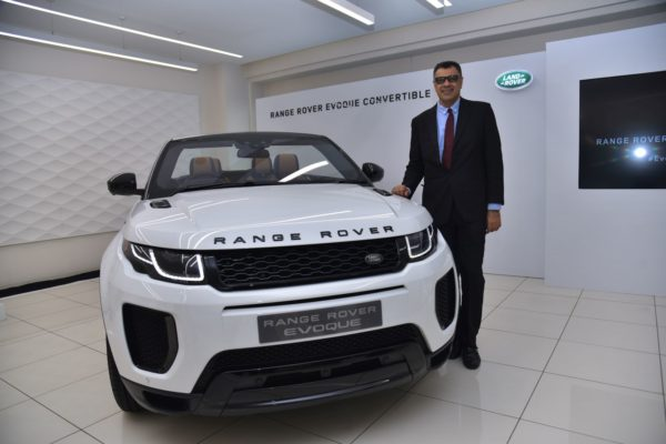 New Range Rover Evoque Convertible Launched In India