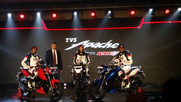 New TVS Apache RTR 160 launch live 19