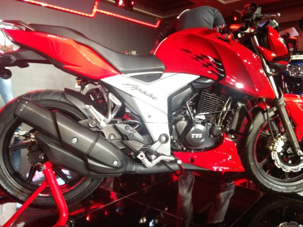 TVS Motor launches new Apache 160 4V at Rs 81490