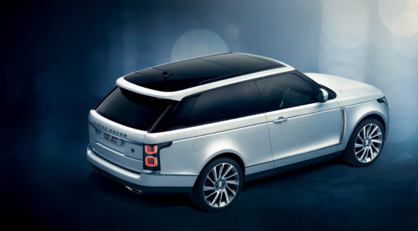 Range Rover SV Coupe Removes Two Rear Doors for More Style
