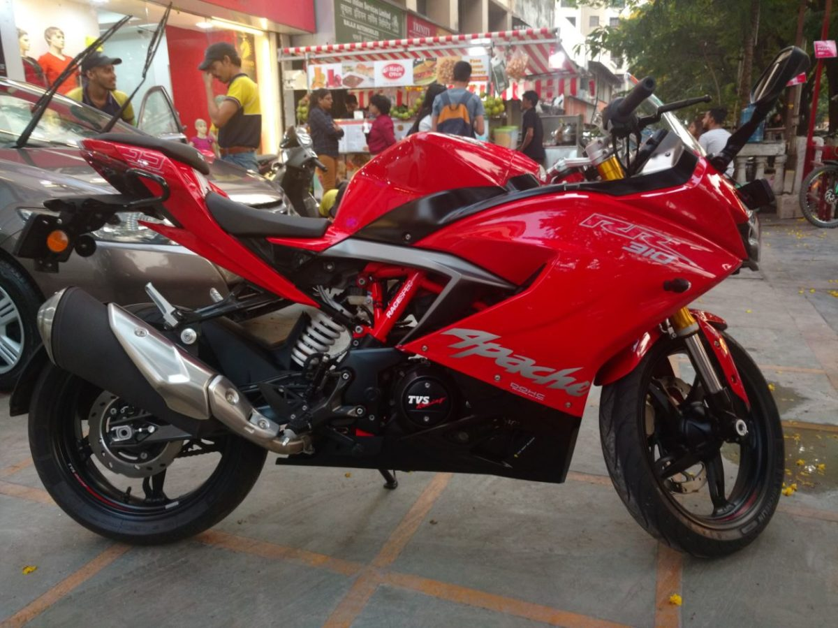 TVS Apache RR310 ownership Aditya Nadkarn 4
