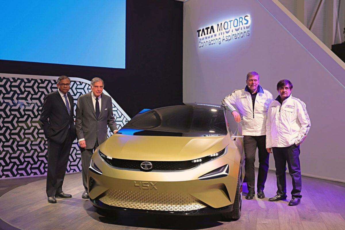 Tata Motors 45X – 2018 Geneva Motor Show