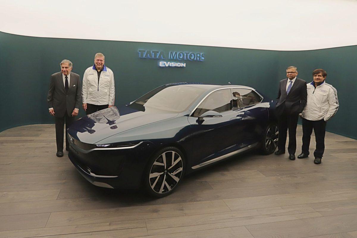 Tata Motors E VISION Sedan – 2018 Geneva Motor Show