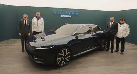 Tata Motors E-VISION Sedan - 2018 Geneva Motor Show