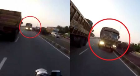 Truck Comes From The Wrong Side - Feature Image