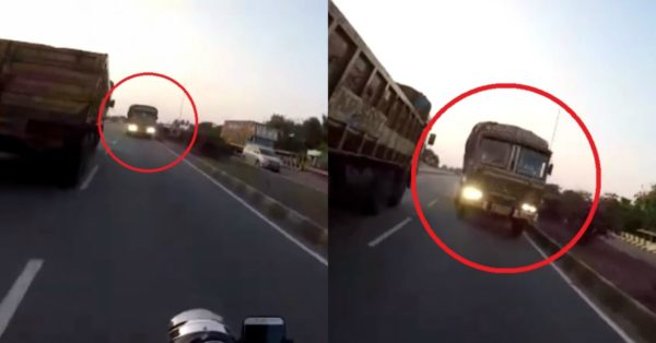 Truck Comes From The Wrong Side – Feature Image