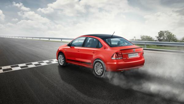Volkswagen Vento Sport rear