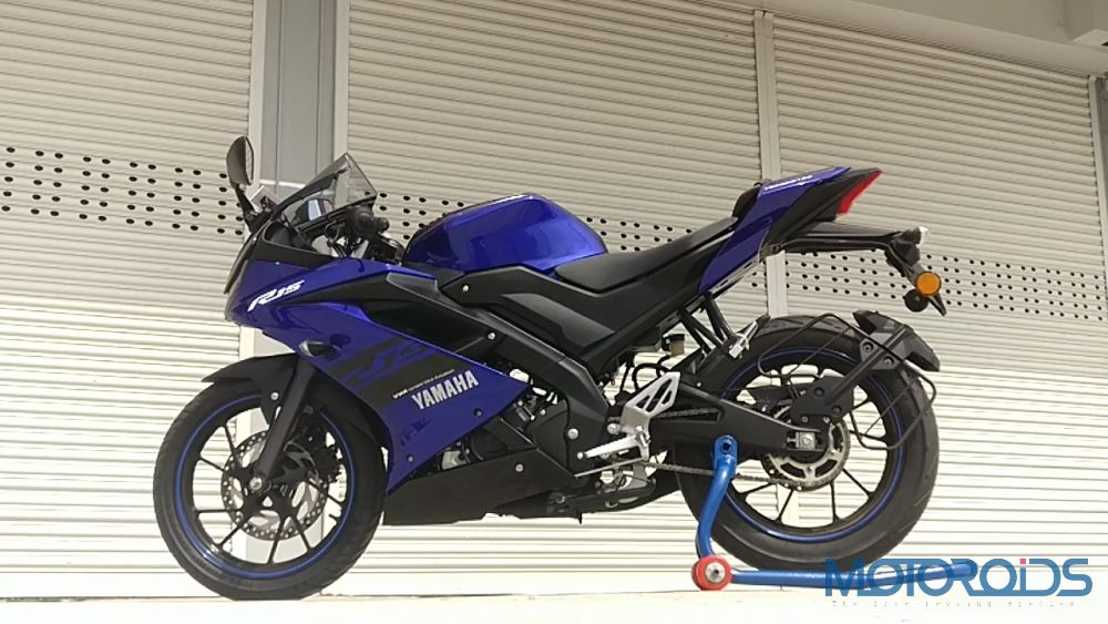 Yamaha R15 V3 - Design and Build Quality