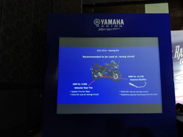 Yamaha R15 V3 – Racing Kit