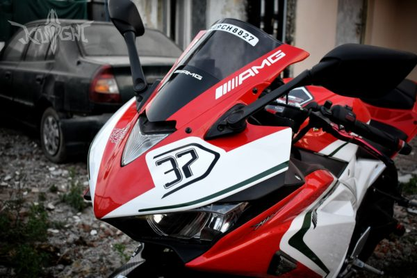 Yamaha YZF R3 To MV Agusta RC Visual Conversion (19)