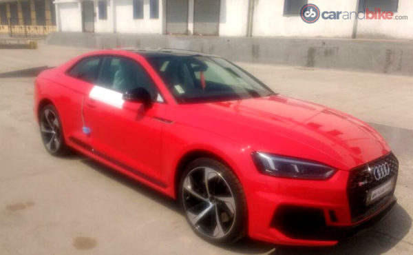 2018 Audi RS5 spotted in India side