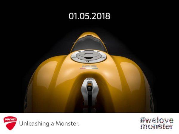 2018 Ducati Monster 821 India launch teaser