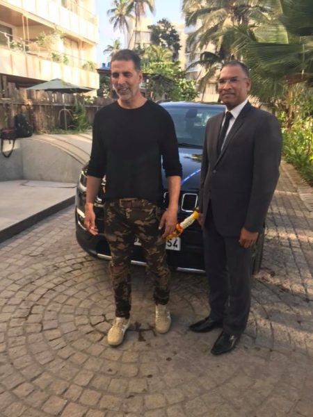 Akshay Kumar gets a Jeep Compass