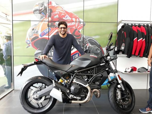 Arshad Warsi Ducati Monster 797