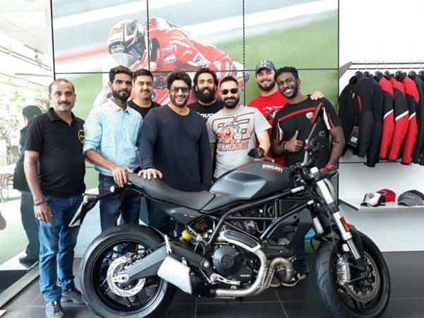 Arshad Warsi's Ducati Monster 797