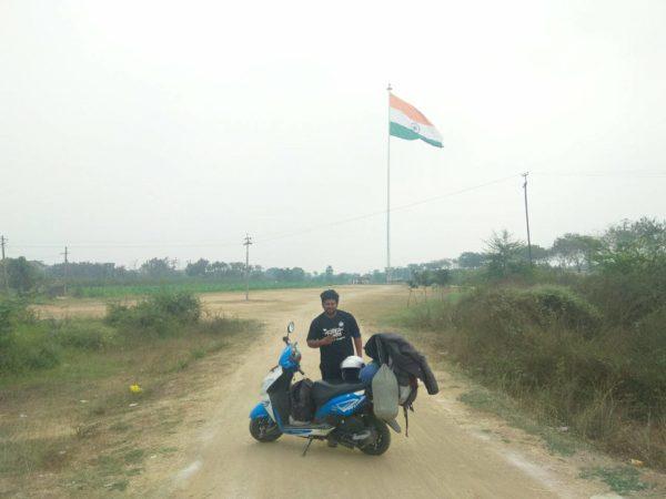 Arun Kumar Rides From Bangalore – Honda Dio (1)