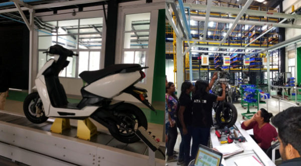 Ather S340 electric scooter trial production begins