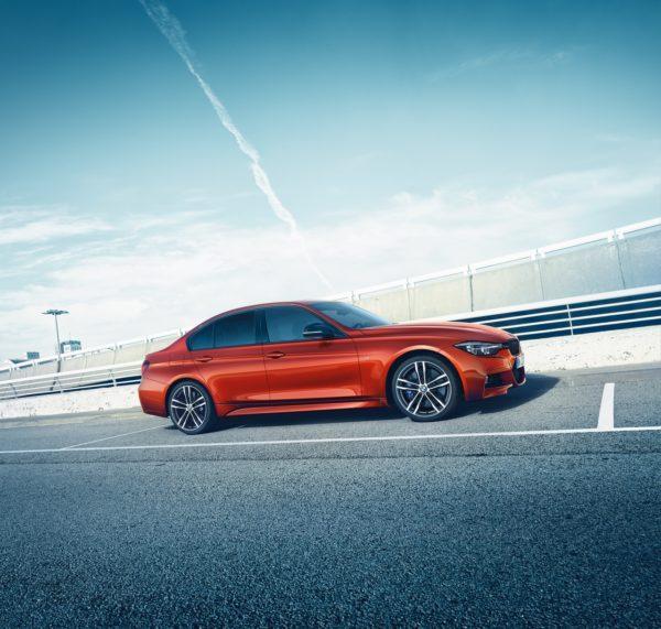 BMW 3 Series Shadow Edition side