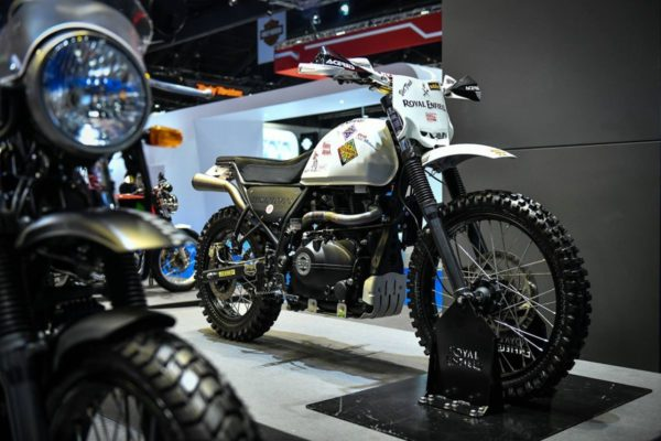 Custom Royal Enfield Himalayan Scrambler Showcased At 2018 Bangkok International Motor Show (2)