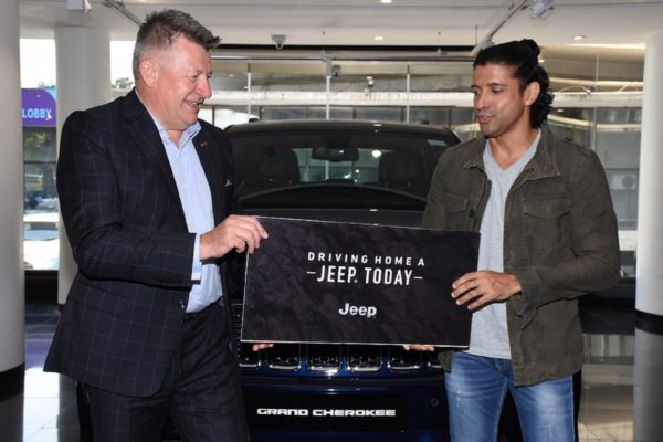Farhan Akhtar gets himself a Jeep Grand Cherokee