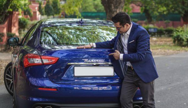 First 2018 Maserati Ghibli (Blu Emozione Diesel) Delivered In Delhi (1)
