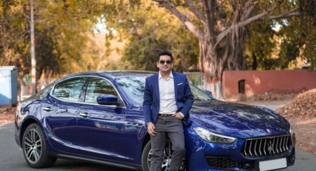 First 2018 Maserati Ghibli (Blu Emozione Diesel) Delivered In Delhi (2)