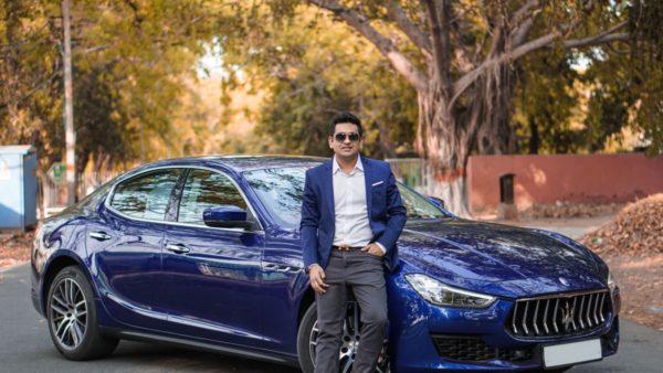 First 2018 Maserati Ghibli (Blu Emozione Diesel) Delivered In Delhi (2)