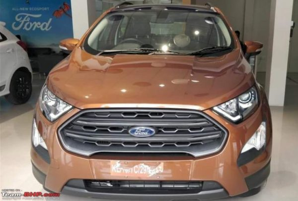 Ford EcoSport Titanium S with sunroof