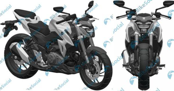 Haojue HJ300 – Suzuki GSXS300 – Feature