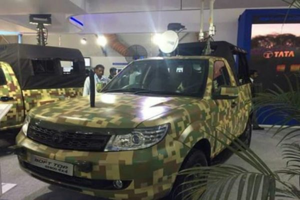 Indian Army To Get Tata Safari Storme Pick up Truck (2)