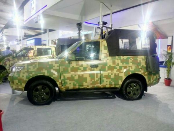 Indian Army To Get Tata Safari Storme Pick up Truck (3)