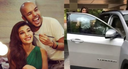 Jacqueline Fernandez Gifts Make-Up Artist Jeep Compass - Feature Image