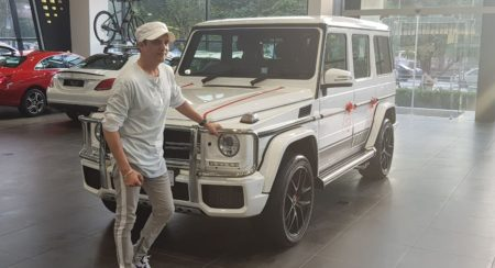 Jimmy Sheirgill gets a Mercedes-Benz G63 AMG