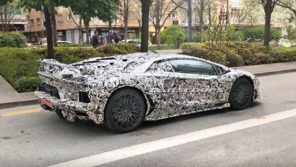 Lamborghini Aventador SV Jota 1