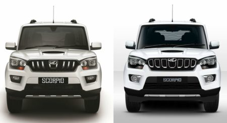 Mahindra Scorpio - 2017 vs Facelift - Feature Image